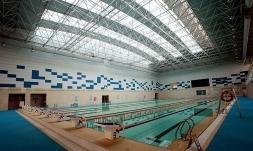 第二炮兵工程学院游泳馆主体工程内景